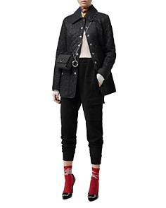 Burberry - Mid-Length Quilted Coat